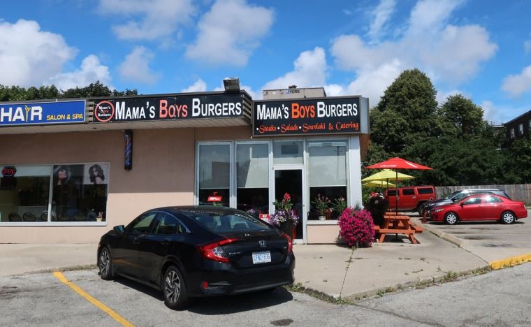 Mama's Boys Burgers