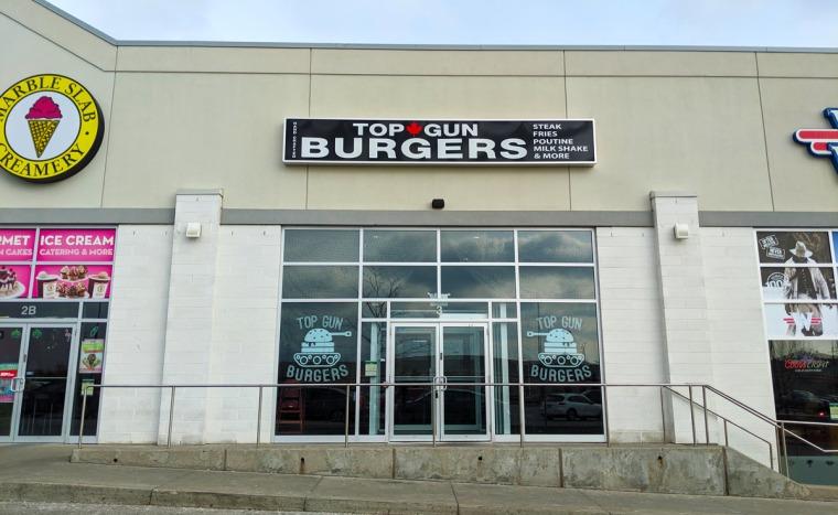 Top Gun Burgers